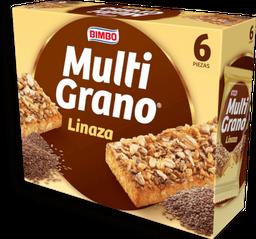 Barra de Cereal Bimbo Multi Grano Linaza 32 g x 6