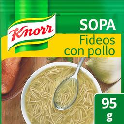 Pasta Para Sopa de Fideo Knorr Con Pollo 95 g