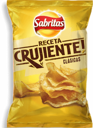 Botana Sabritas Receta Crujiente Clásicas 170 g