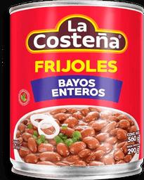 Frijoles La Costeña Bayos Enteros 560 g