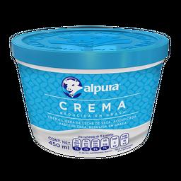 Crema Alpura Reducida en Grasa 450 mL