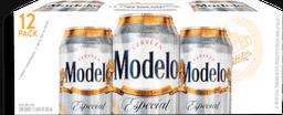 12 Pack Cerveza Modelo Especial 355 mL