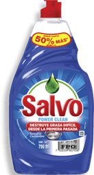 Lavatrastes Salvo Power Clean 750 mL