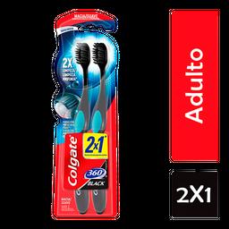 Colgate Cepillo Dentaldental 360 Grados Black