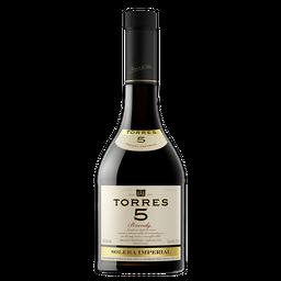 2 u Brandy Torres 5 Solera Botella 700 mL