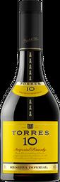 2 u Brandy Torres 10 Botella 700 mL