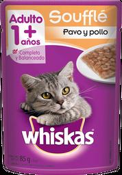 Alimento Para Gato Whiskas Sabor Pavo y Pollo 85 g