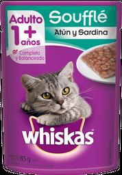 Alimento Para Gato Whiskas Atún y Sardina 85 g