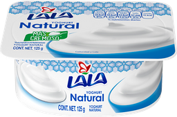 Yogurt Lala Natural 125 g