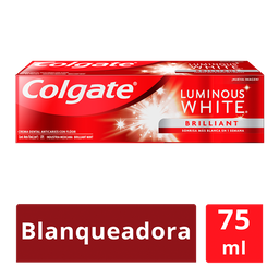 Colgate Pasta Dental Luminous White Brilliant 75 Ml