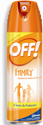 Repelente  OFF Family en Aerosol 177 mL