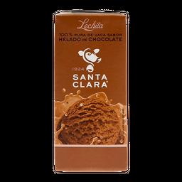 Leche Santa Clara Saborizada  Helado de Chocolate 200 mL