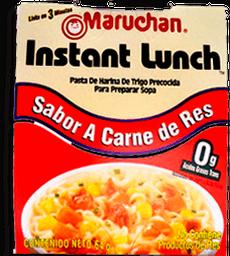 Sopa Instantánea Maruchan Sabor Carne de Res 64 g
