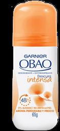Desodorante Mujer Roll On Obao Fresco Intenso