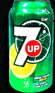Refresco 7 Up Lima Limón 355 mL
