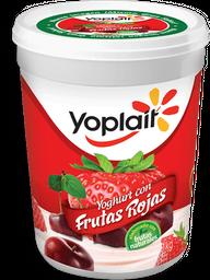 Yoghurt Yoplait Con Frutas Rojas 1 Kg