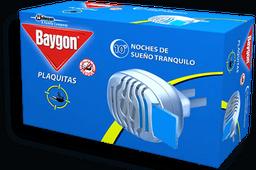 Plaquitas Baygon Mosquitos y Zancudos Con Aparato 11 U