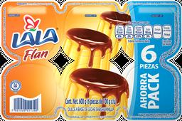 Flan Lala Vainilla 100 g x 6