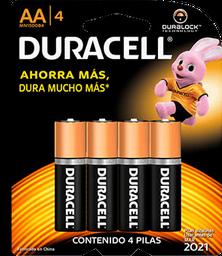 Pila Duracell AA 4 U