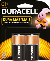 Pila Duracell C-alcalina 2 U