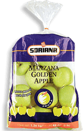 Manzana Golden Soriana 1.36 Kg