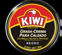 Crema Para Calzado Kiwi Negro 80 g