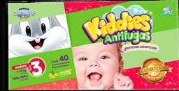 Pañal Chicolastic Kiddies Antifugas Etapa 3 Unisex 40 U