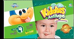 Pañal Kiddies Antifugas Etapa 4 Unisex 40 U