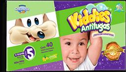 Pañal Chicolastic Kiddies Antifugas Etapa 5 Unisex 40 U
