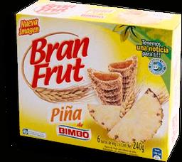 Barra de Cereal Bran Frut Rellena de Piña 40 g x 6