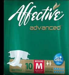 Pañal Para Adulto Affective Advanced Talla Mediana 10 U