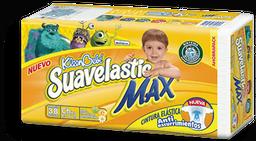 Pañal Suavelastic Max Talla Chica 38 U