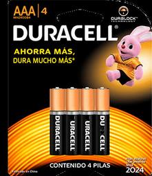 Pilas Duracell AAA 4 U