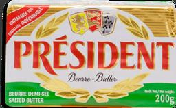 Mantequilla Président con Sal 200 g