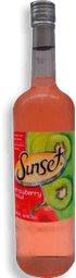 Cooler Sunset Kiwi Con Fresa 750 mL
