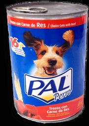 Alimento Para Perro Pal Res y Cereales 375 g