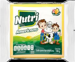 Queso Americano Nutri Leche en Rebanadas 140 g