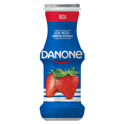 Yoghurt Danone Bebible Con Fresa 220G