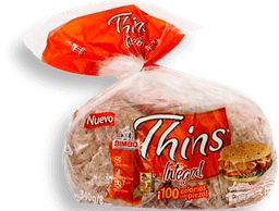 Pan Bimbo Thins Integral 255 g