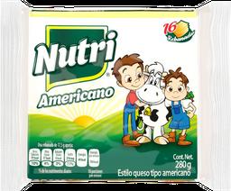Queso Americano Nutri Leche Rebanadas  280 g