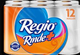 Papel Higiénico Regio  Rinde + 12 U