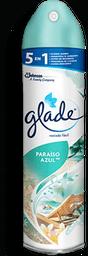 Aromatizante Glade Paraiso Azul 400 mL