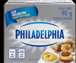 Queso Crema Philadelphia Original 90 g