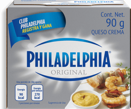 Queso Crema Philadelphia Original 90 g