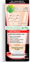 Bb Cream Tono Claro Antiarrugas Garnier