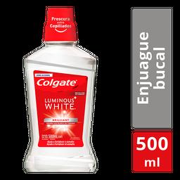 Colgate Enjuague BucalLuminous White