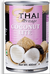 Leche de Coco Thai Heritage Lite 400 mL