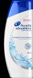 Shampoo Head & Shoulders Limpieza Renovadora 180Ml