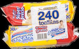 Pack Toallita Húmeda Kleenbebé Absorsec 120 X 2