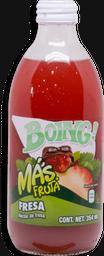 Bebida Boing Jugo Sabor Fresa 354 mL